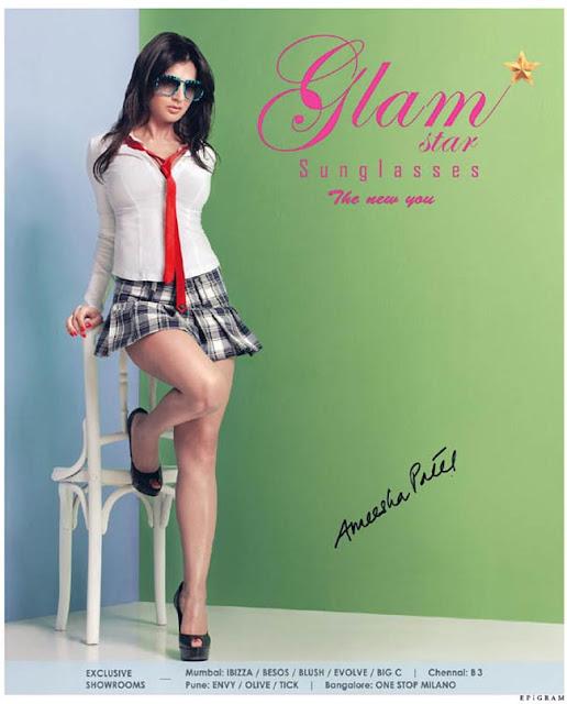 Amisha Patel Hot Glam Star Photoshoot