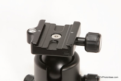 Benro B-2 QR clamp closed