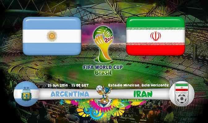 ver argentina vs iran Grupo F