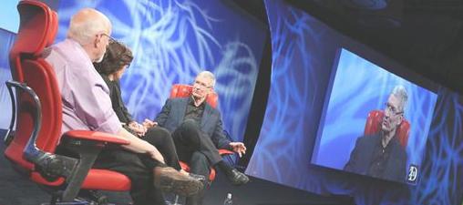 Tim Cook en una entrevista habla sobre apple