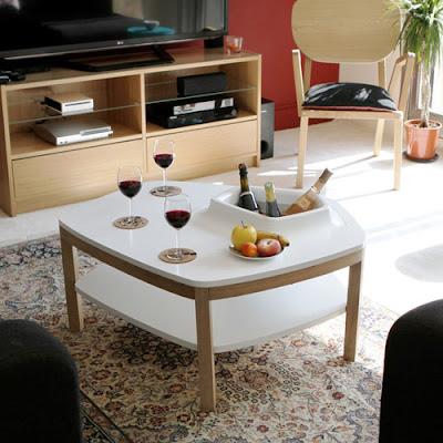 mẫu bàn độc đáo cho phòng khách