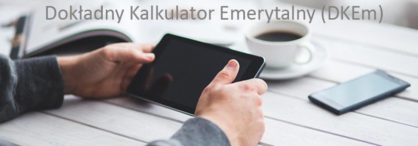 Dokładny Kalkulator Emerytalny - DKEm