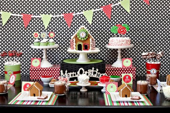 Decoracion de Fiestas de Navidad, parte 1