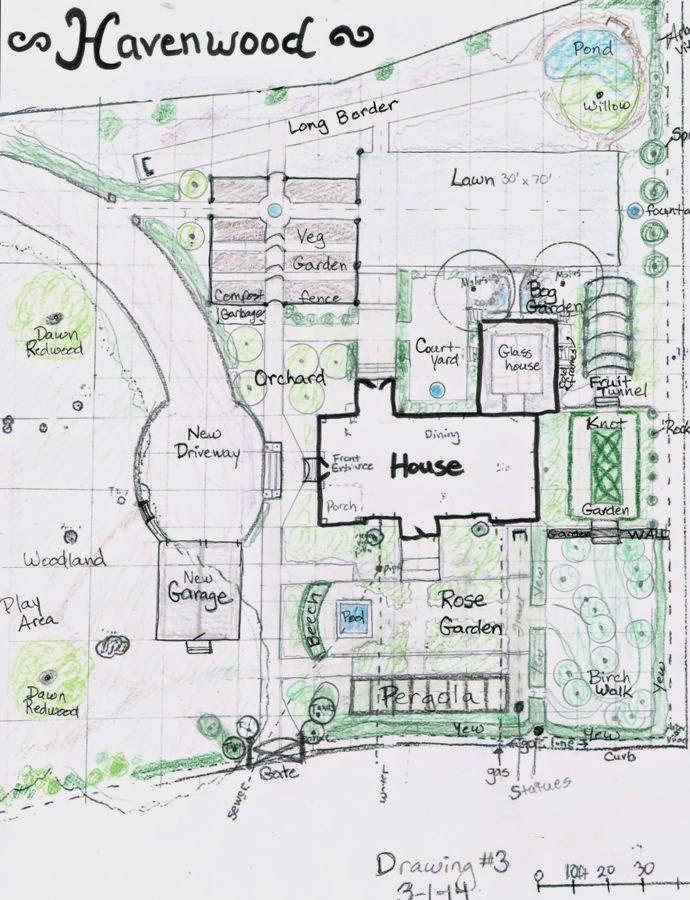 Wife mother gardener havenwood final garden plan for Semi formal garden designs