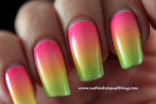Barry m gelly collection barry m limited edition summer brights nail art