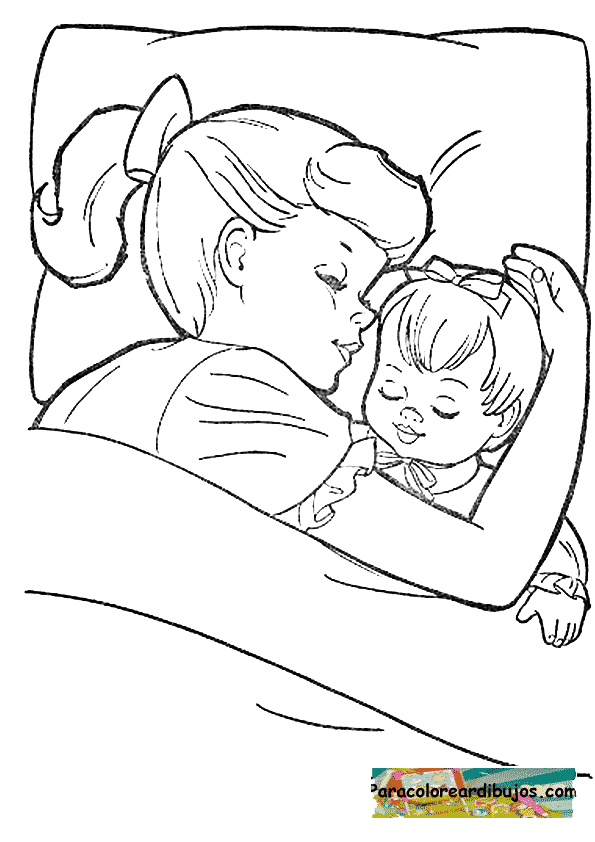 free kitty sleep coloring pages