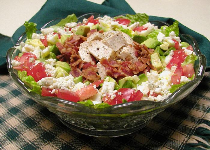 don't let me eat that: you're definitely not johnny cash, cobb salad.