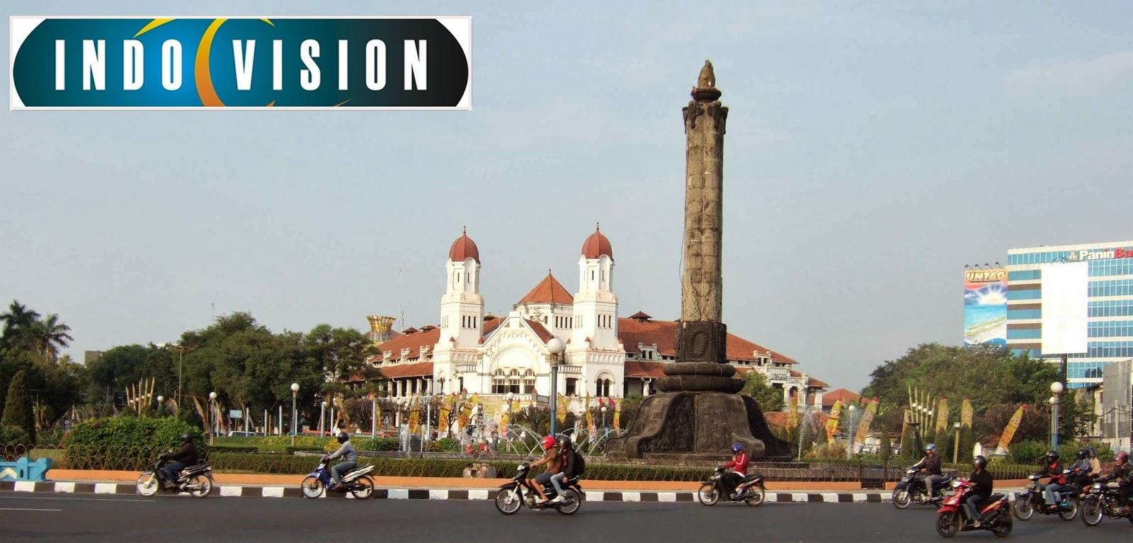 Cara berlangganan Indovision Semarang