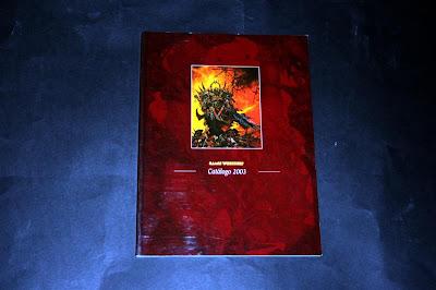 Portada del Catálogo 2003