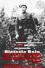 Zaproszenie  na projekcję filmu ,,Historia Roja ,czyli z  ziemi lepiej słychać''
