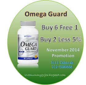 Promosi November Omega Guard