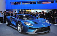 Ford GT Blue 2015