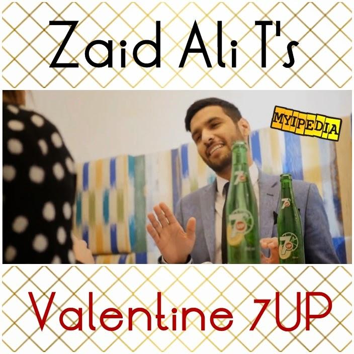 zaid ali ts valentine 7up celebration funny video