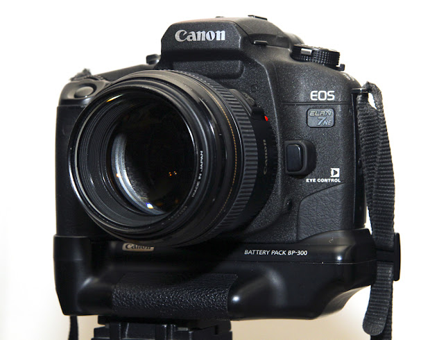 Canon EOS Elan 7ne with eye control focus