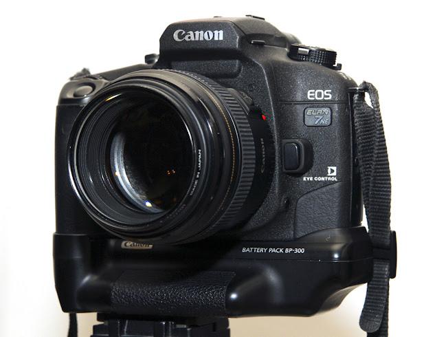 Canon EOS Elan 7ne with eye control focus