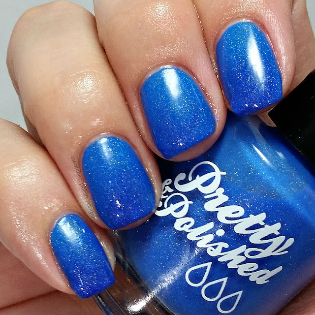 swatcher, polish-ranger | Pretty & Polished My Favorite Blurple swatch