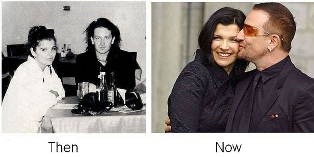 Bono and Alison Hewson, together since 1975