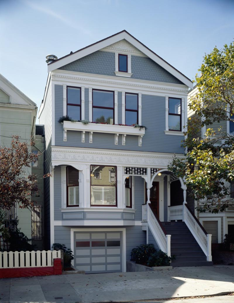 San Francisco Victorian House Front