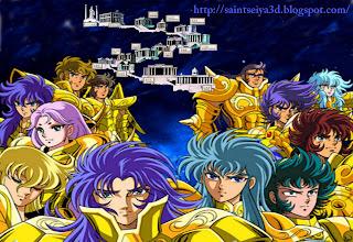 Los Caballeros Del Zodiaco (Saint Seiya) El Santuario - Las 12 Casas