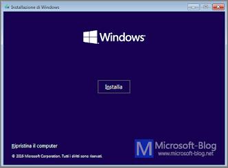 Guida Installazione Windows