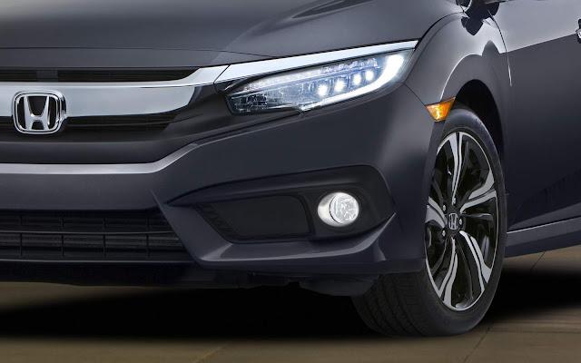 Novo Honda Civic 2016 - dianteira