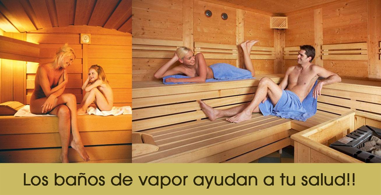 Sanaire disfruta de los ba os de vapor - Beneficios del bano de vapor ...