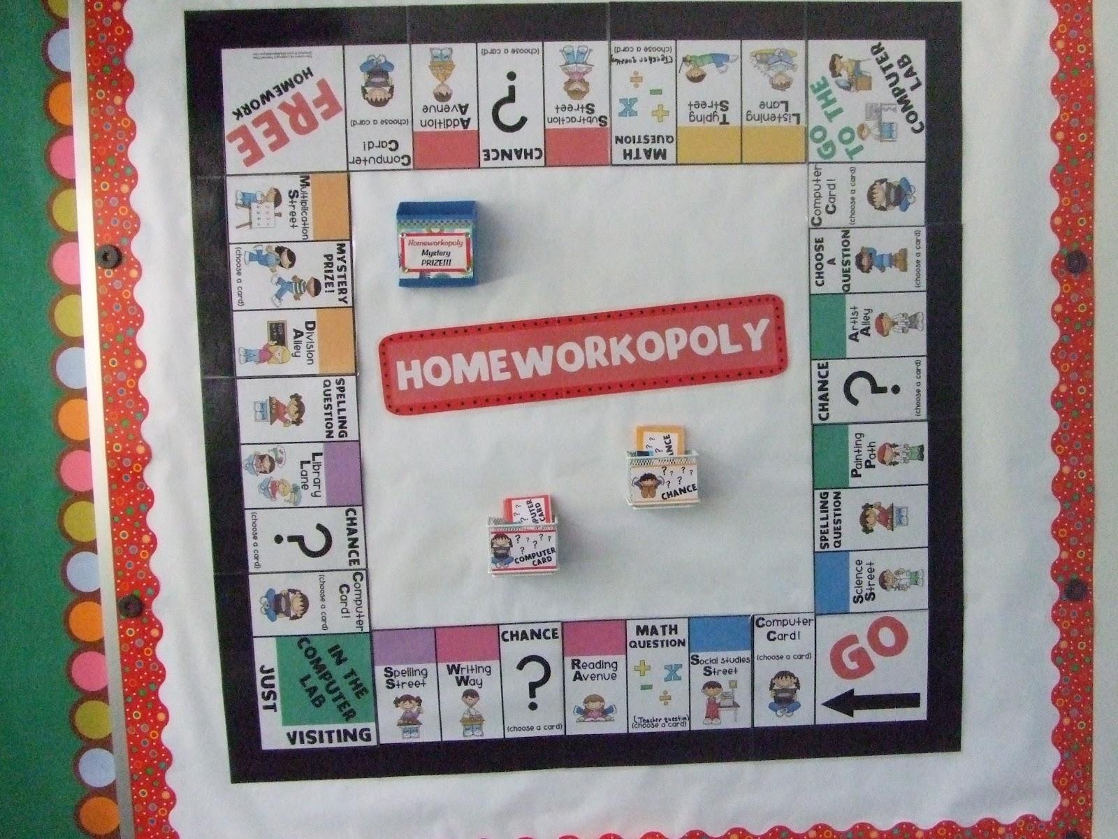 Buy homeworkopoly