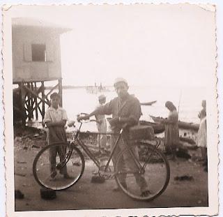 Mi Padre en 1950 al llegar a Guayaquil.
