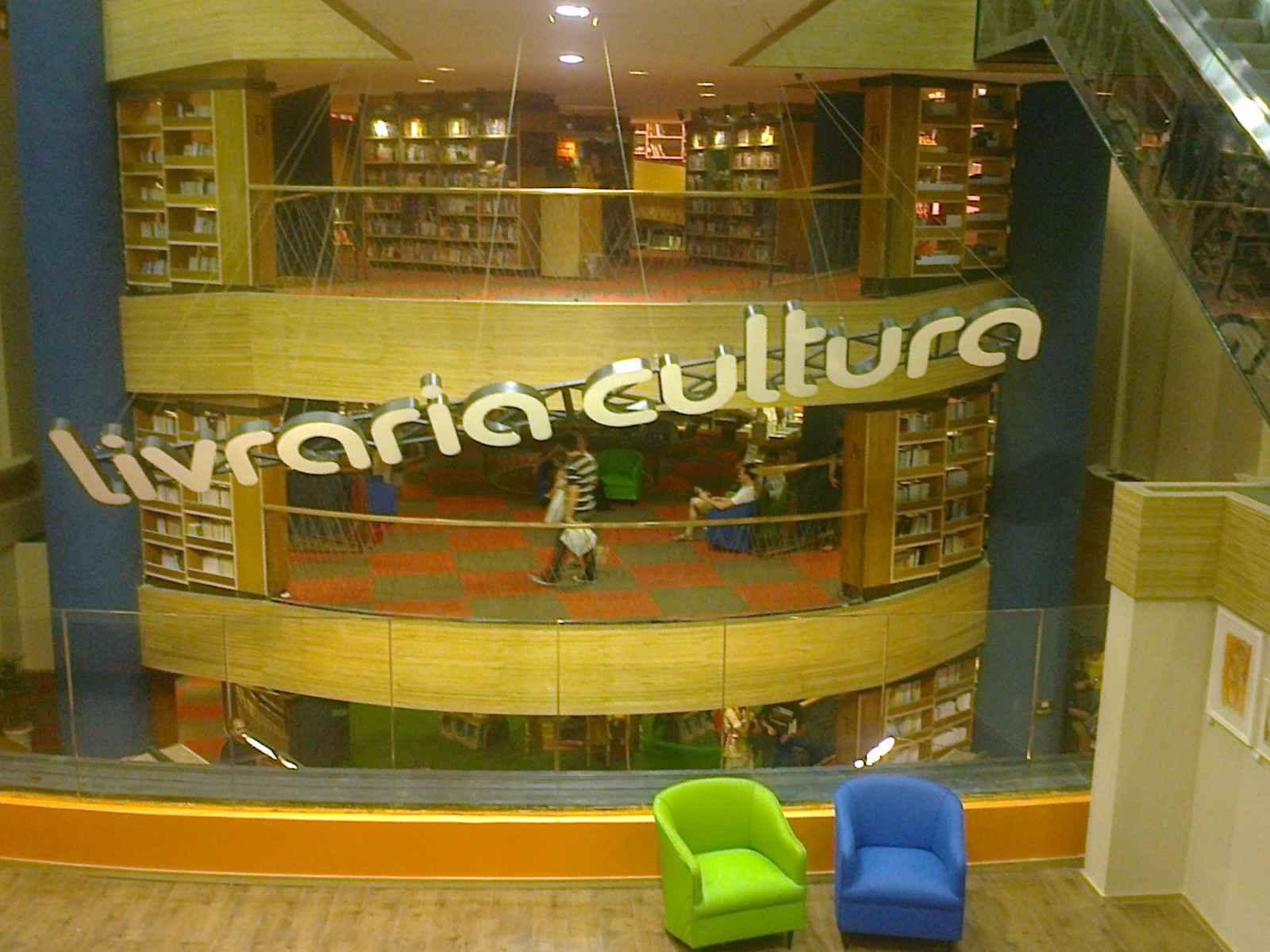 Cultura já tem uma filial no Shopping Fashion Mall mas nem se  #674913 1600x1200