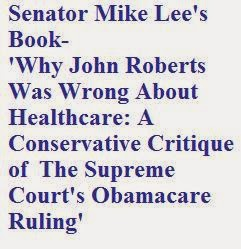 Senator Mike Lee's book ...