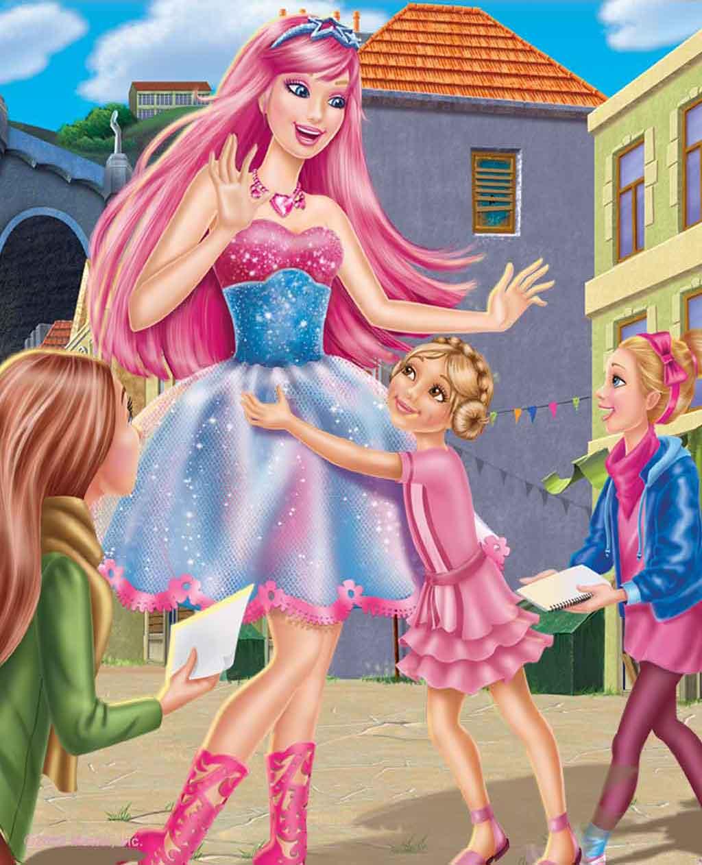 Nuevas Imagenes De Barbie En La Princesa Y La Cantante