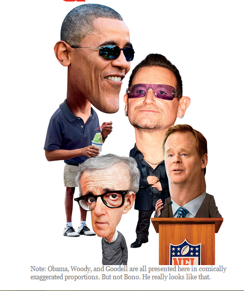 """Barack Obama Makes GQ's List of """"Least Influential People of 2014"""""""