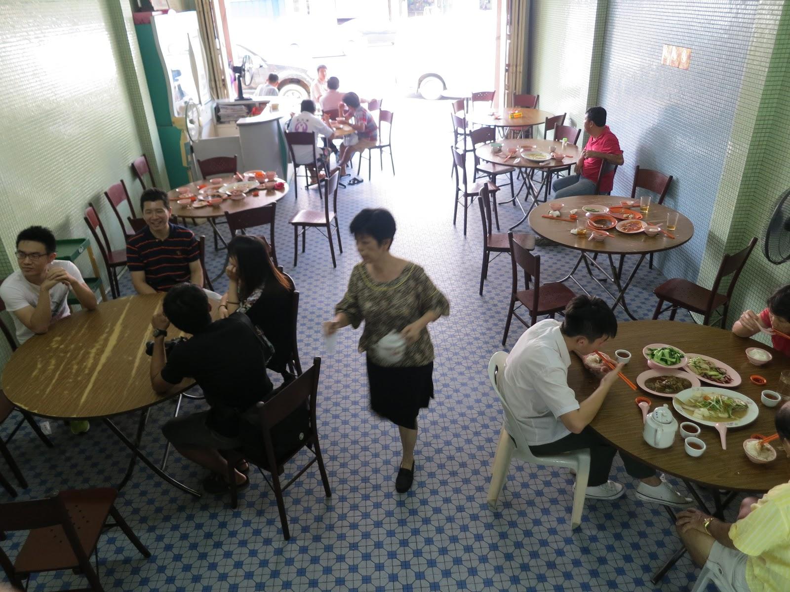 Loke Tien Yuen Restaurant 乐天园酒家 in Mersing, Johor, Malaysia