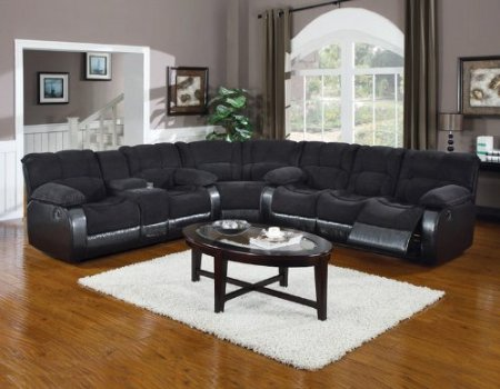 Sofa With Chaise And Storage Sectional Sleeper Sofa With Recliners