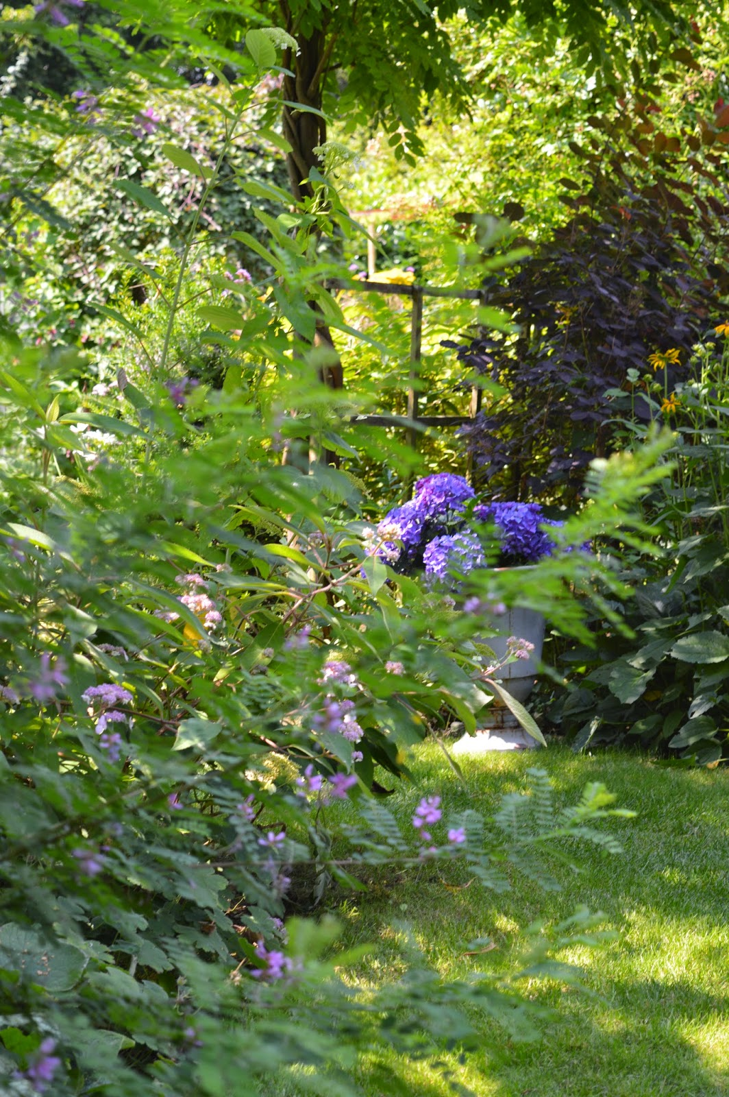 passionn ment jardin joli coin au jardin. Black Bedroom Furniture Sets. Home Design Ideas