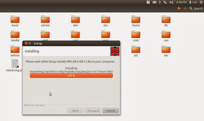 Mplab X IDE and XC8 C Installation