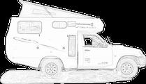 4x4 geländewagen ausbau suv wohnmobil schubladen offroad