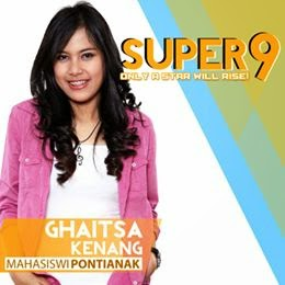 ghaitsa kenang rising star indonesia super 9