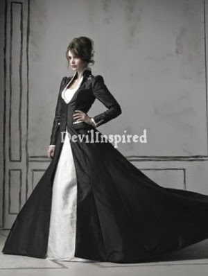 Gothic Wedding Dress - Affordable Wedding Dresses: Victorian
