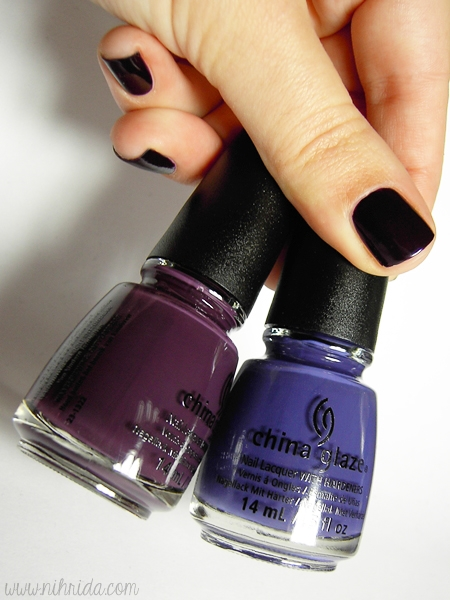 China Glaze Queen B & Charmed I'm Sure