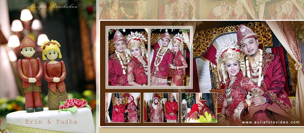 Foto Wedding Khas Sumatera di Yogyakarta