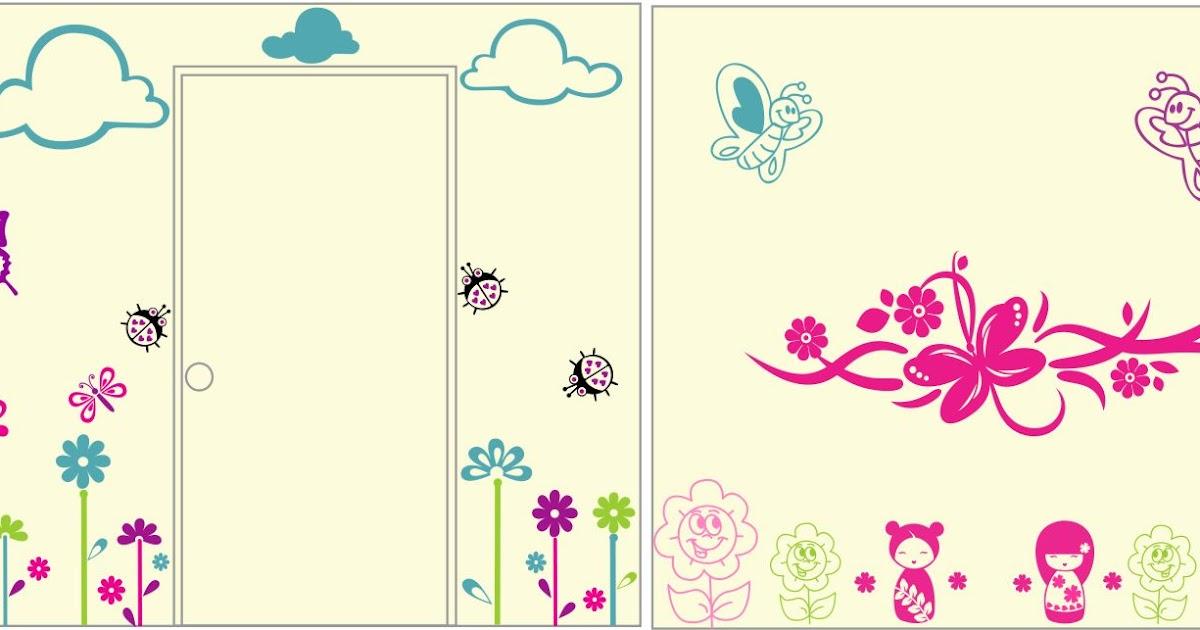 Vinilos decorativos infantiles personalizados decorando - Vinilos decorativos personalizados ...