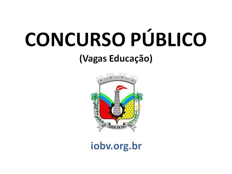 EDITAL PMCS N° 001/2015