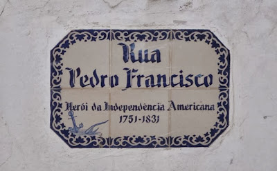 Rua Pedro Francisco - Peter Francisco Street