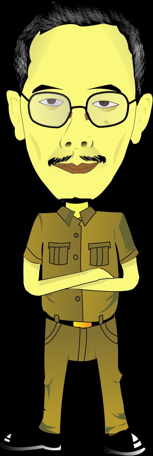 Gambar Kartun Bapak Guru Keren Bestkartun