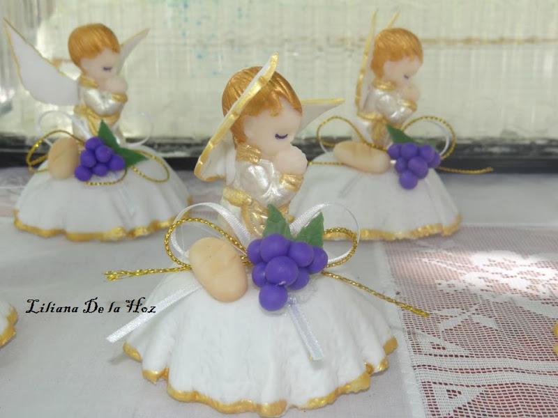 Manualidades nawal porcelanicron primera comuni n - Manualidades para comunion de nina ...