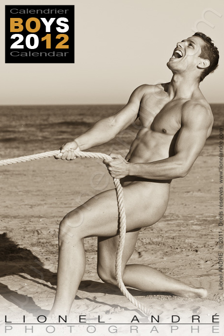 Anthony • 'BOYS 2012' Calendar by Lionel André