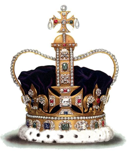 Queen Of England Crown Jewels RT Hannaford: The Crow...