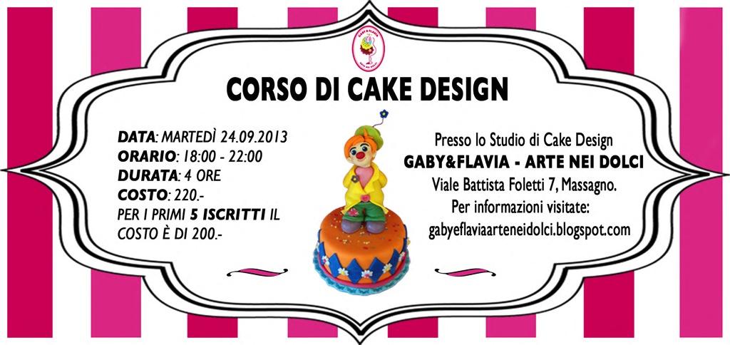 Corsi Di Cake Design Verona : ARTE NEI DOLCI: settembre 2013