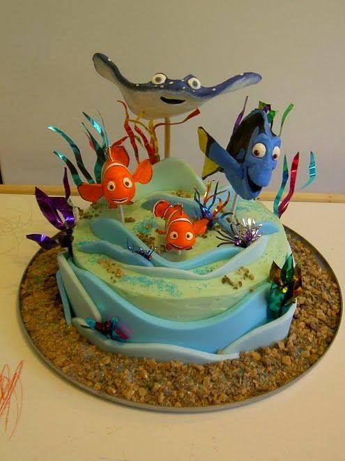 Latest Cake Designs For Husband Birthday : TELUGU WEB WORLD: LATEST MODELS OF NEMO BIRTHDAY CAKES DESIGNS